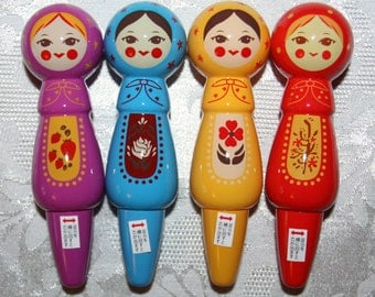 Babushka Russian Doll Matryoshka Pen Set
