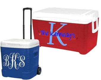 Personalized Cooler Decal