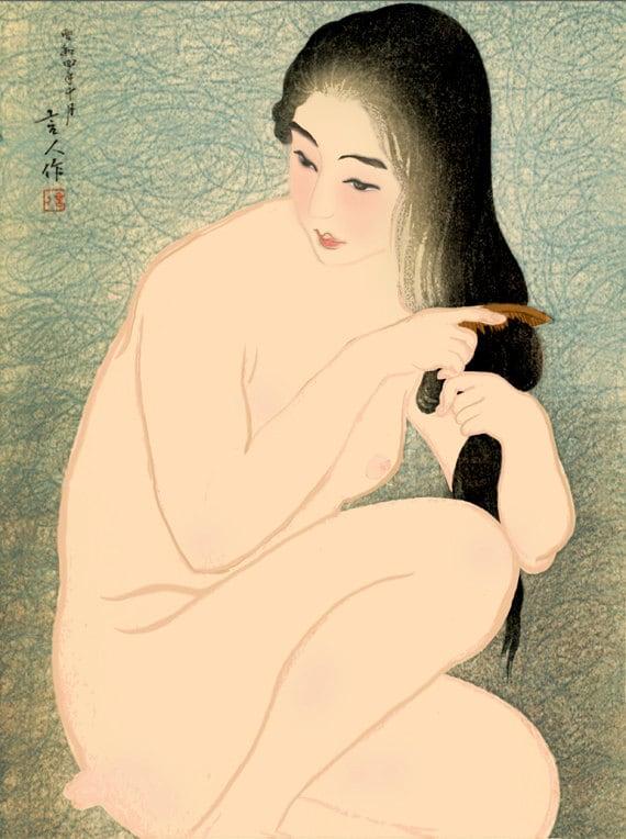 Vintage Nude Prints 115