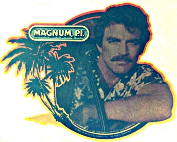 magnum pi 2 vintage 70s tshirt ironon transfer by