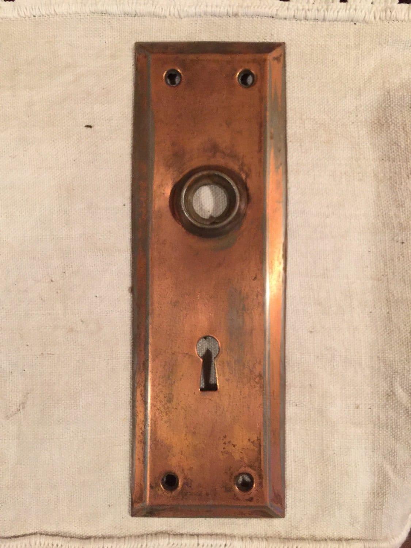 Vintage Door Plate 81