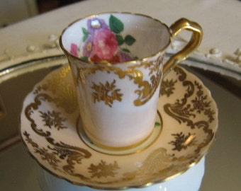 Paragon Queen Mary Demitasse Teacup