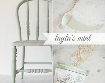 Miss Mustard Seed's Milk Paint 1 Quart Layla's Mint