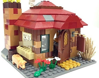 Lego Harry Potter Cottage Parts & Instructions Kit