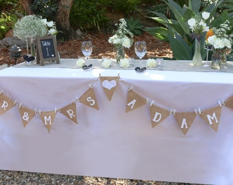 Wedding Bunting - Customised for you!