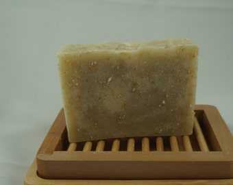 Oatmeal Cocoa Butter Soap Natural Soap . Handmade Soap . Unscented Soap . Vegan Soap