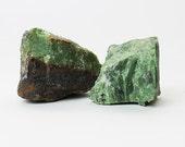 Chrysoprase Mineral Specimen (2 pcs.)