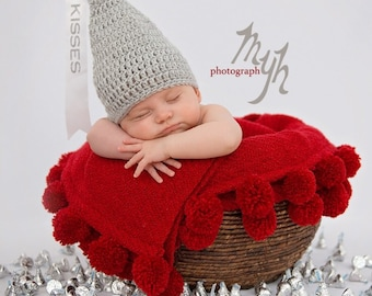 Crochet Hershey kiss hat/ Valentine's day hat/ Hershey kiss crochet/photo prop