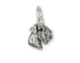 Sterling Silver Sealyham Terrier Dog Charm Jewelry  SEM1H-C