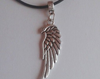 choker angel angels necklace