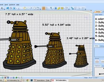 Digital File - Dalek - 3 sizes