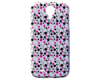 Fun Decoritve Case Design Polka Dot For Samsung Galaxy S5 Protective Skin S4 Durable Luxury Cases Back Fashionable Cover New Pattern c244