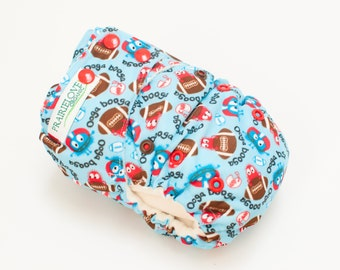 Ooga Booga Football AI2 Snap Closure Diaper