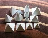 Orgone Aluminium Pyramid Mold / Mould - Bundle of everything (13 moulds)