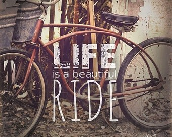 MA1048 - Bicycle... Life is a Beautiful Ride