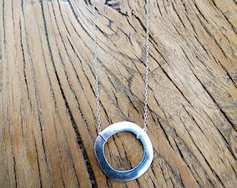 Arito, handmade silver necklace