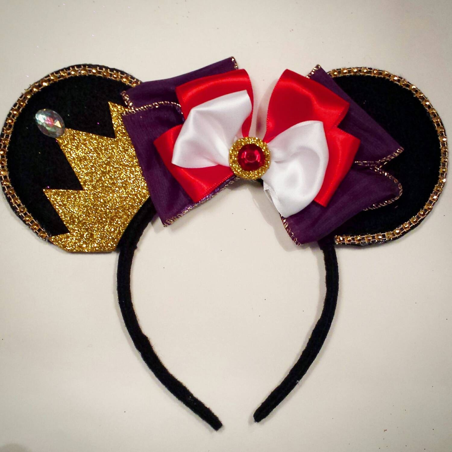 Snow White Evil Queen inspired Minnie Mouse EarsDisney Evil Queen Ears