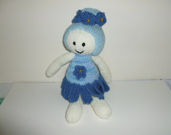 Forget- me - not flower dolly