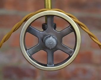 Pulley Wheel - Antique Brass - Barn Door Hardware - Iron Pulley - Metal Pulley - Pulley Light Parts - Best Quality