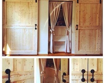 Pine Barndoor Custom Made to Order