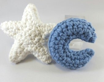 Star and Moon Catnip Toys