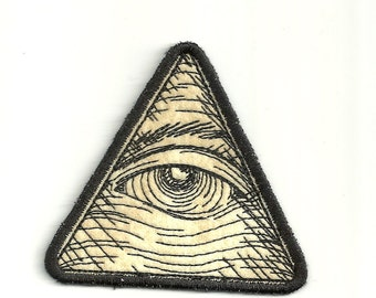 Eye of Providence! Any Color Patch! Custom Made! AP35