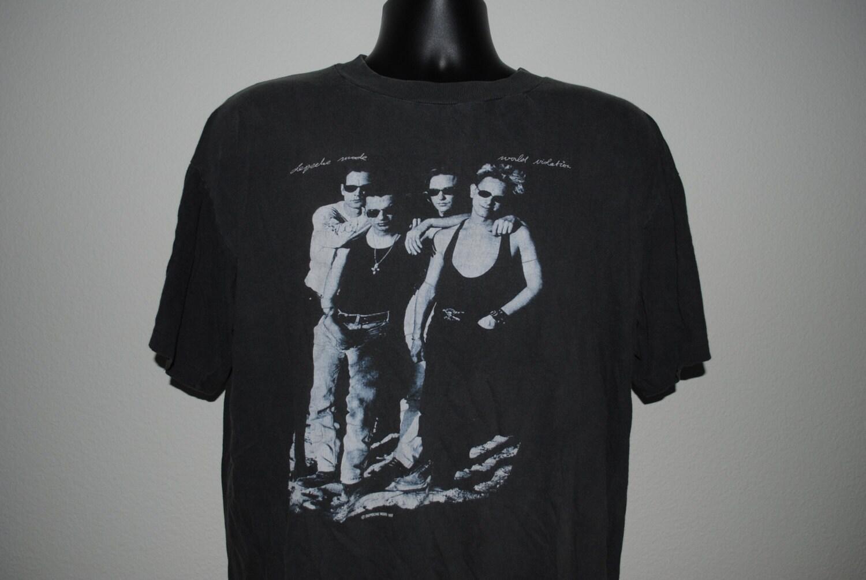1990 depeche mode violator vintage 80 39 s 90 39 s goth. Black Bedroom Furniture Sets. Home Design Ideas