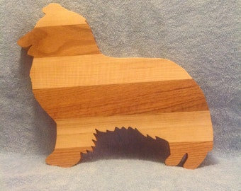 Sheltie Cutting Board
