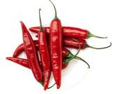 25 - Heirloom Hot Pepper Seeds - Thai Red - Heirloom Pepper Seeds, Red Thai Peppers, Super Hot Peppers, Heirloom Thai Pepper, Non-gmo Pepper