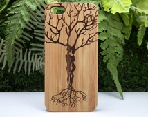 Ketubah Love Tree iPhone 6S or iPhone 6 Case. Tree of Life Couple Jewish Judaism HaShem Twin Flame Eco-Friendly Bamboo Wood Cover Spiritual