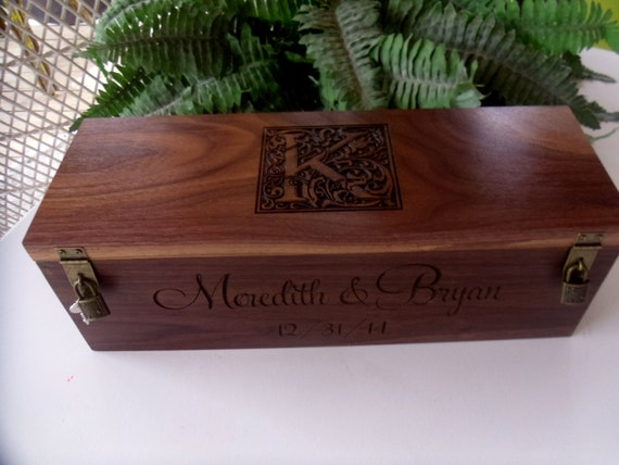 Wine Gifts For Wedding: Wine Box Custom Wine Box Wedding Wine Box Wedding Gift