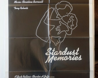 "Movie Poster       ""Stardust Memories"" -   1980 Original"