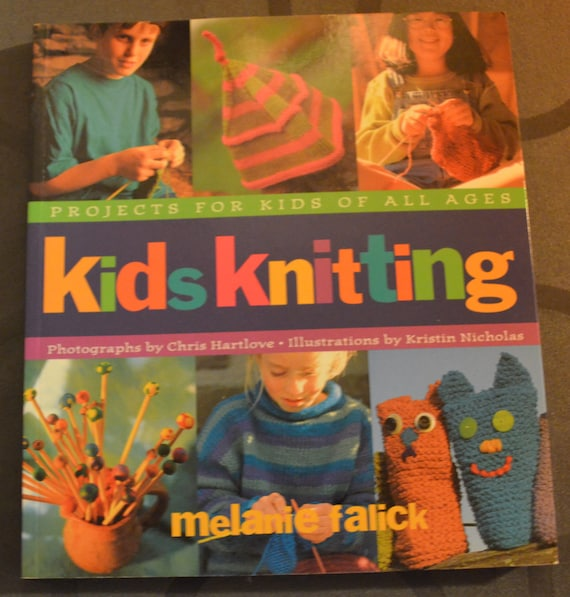 Knitting Tools For Kids : Kids knitting tool book