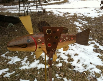 Brown Trout Whirligig