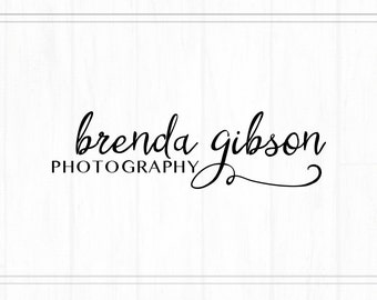 Premade Photography Text Watermark + Logo