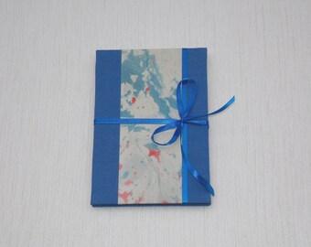Cute X-mas gift. Leporello photo album. Accordion book for 14 photos.
