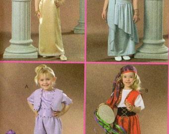 Easy McCall's  Costumes Pattern 4949 GYPSY GENIE GRECIAN Girls 6 7 8