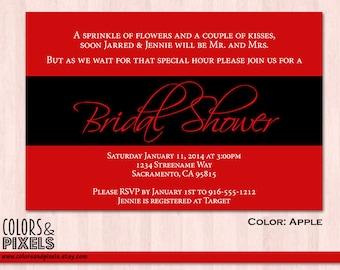 Bridal Shower Invitation, Wedding Shower Invitations, Bachelorette Invitation, Bachelorette Invitation, Printable Bridal Shower Invitation