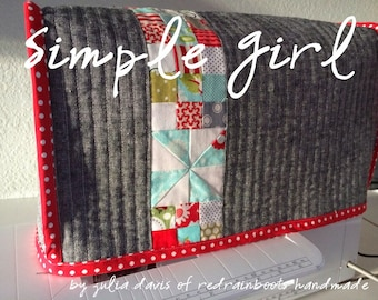 Simple Girl - A Sewing Machine Cover {Pattern}