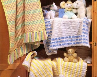 Crochet Baby Blanket Patterns Worsted Weight Yarn : Blanket Rug Yarn Etsy Studio