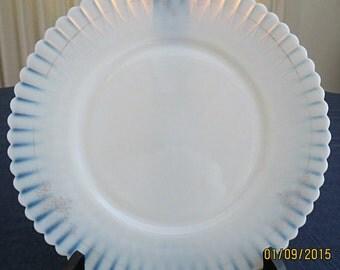 REDUCED PRICE - Macbeth Evans Monax Plate - circa 1930's