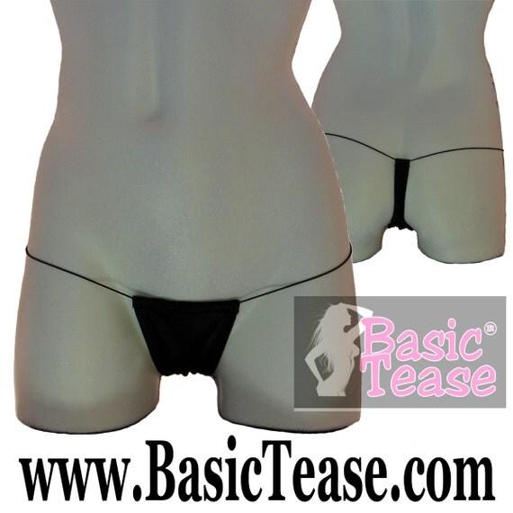 Stripper Clothes / Super Low Rise Cord Thong / Stripper / Thong / Stripper Wear / Micro Thong / Pole Dance Clothing / Thongs / Thong Bikini