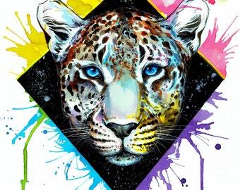 "Art Print ""Leopard"""