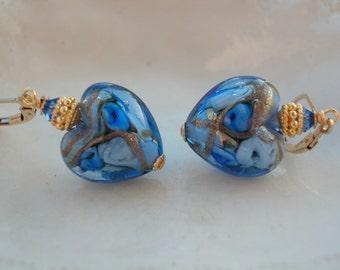 Venetian Murano Glass Earrings