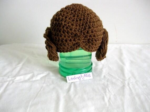 Crochet Pattern Princess Leia Hat : Crochet Star Wars Princess Leia hat / star wars / by ...