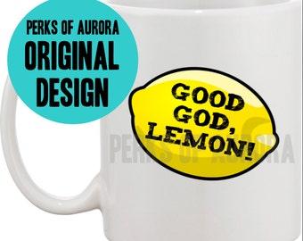 30 Rock- Good God Lemon coffee mug