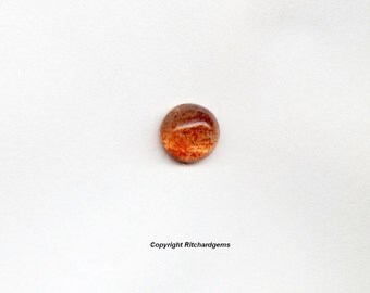 7 mm Natural Semi Precious African Sunstone Cabochons For One
