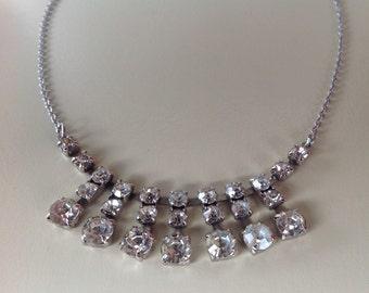 Diamante necklace - Vintage 1950s in great condition
