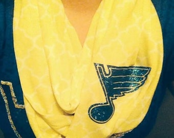 St. Louis Blues infinity scarf