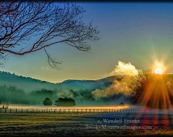 Daybreak in the Smokies E189